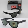 Ray Ban Wayfarer RB2132F 622 Rubber Black Frame