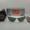 Ray Ban RB3183 006/71 ฺBlack Frame Green lenses 63MM