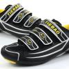 รองเท้าปั่นจักรยานเสือหมอบ TIEBAO สีดำเหลือง : TB16-B1230_0208