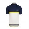 ชุดปั่นจักรยานแขนสั้นทีม Rapha เสื้อปั่นจักรยานซิป 7 นิ้ว 276