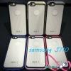 เคสซัมซุงJ710 case samsung J710 ขอบสีหลังใส