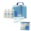 กระเป๋าเก็บความเย็นพร้อมขวดเก็บน้ำนมแม่ Natur พร้อมเจลเย็น + ขวดเก็บน้ำนม 6 ขวด BPA -Free