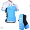 ชุดปั่นจักรยานแขนสั้นทีม ITALIA เสื้อปั่นจักรยาน กับ กางเกงปั่นจักรยาน สีฟ้า 048