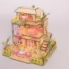 wooden doll house 3D puzzle บ้านใหญ่สามชั้น