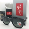Ray Ban Wayfarer RB2140F 901/58 Polarized Asian fit
