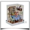 บ้านตุ๊กตาจิ๋ว DIY mini dolls house - มุมครัวเล็กๆในบ้าน