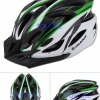 หมวกจักรยาน GIANT สีเขียวขาว