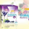 เรียว Collagen Blueberry Plus+ (ผลิตภัณฑ์เสริม เรียล คอลลาเจน) แบบชง