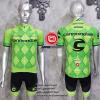 ชุดปั่นจักรยานแขนสั้นทีม Cannondale 2016 เสื้อปั่นจักรยาน กับ กางเกงปั่นจักรยาน สีขาว 304