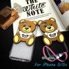 เคสไอโฟน5 case iPhone5s TPUหมี