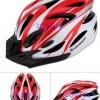 หมวกจักรยาน GIANT สีแดงขาว