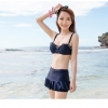 บิกินี่ Bikini-Fairy Colorful (Navy)