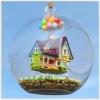 DIY UP's flying house.. . ลูกแก้วแบบแขวนตั้งโต๊ะได้ค่ะ ให้เป็นของขวัญวันเกิดเพื่อนหรือประกอบเล่นกับคนรู้ใจ