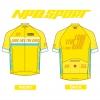 เสื้อปั่นจักรยานแขนสั้น LONG LIVE THE KING : NPD0201