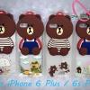 เคสไอโฟน6พลัส case iPhone6s Plus TPUหมี