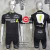 ชุดปั่นจักรยานแขนสั้นทีม Demension Data 2016 เสื้อปั่นจักรยาน กับ กางเกงปั่นจักรยาน สีดำ 308