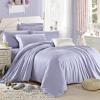 ผ้าปูที่นอน ผ้าเทนเซล tencel สีพื้นสีม่วง