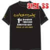 T-SHIRT : OVERTONE 1st YEAR(SIZE : SS)