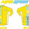 เสื้อปั่นจักรยานแขนยาว LONG LIVE THE KING 2016 : NPD0404
