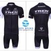 ชุดปั่นจักรยานแขนสั้นทีม Trek เสื้อปั่นจักรยาน กับ กางเกงปั่นจักรยาน สีดำ 004