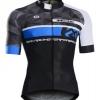 เสื้อปั่นจักรยานแขนสั้น Monton 2016 EVO MENS CYCLE JERSEY JAT BLACK BLUE : 116111062