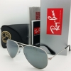 Ray-Ban Aviator RB3025 W3275 55mm Silver Mirror