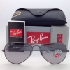 Ray Ban RB3025 029/P2 Aviator Crystal Grey polarized 58mm