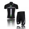 ชุดปั่นจักรยานแขนสั้นทีม MERIDA เสื้อปั่นจักรยาน กับ กางเกงปั่นจักรยาน สีดำ 178