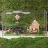 DIY sweet world tour cabin.. บ้านสวย ล้อมรอบด้วยรางรถไฟ