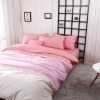 ผ้าปูที่นอน สีพื้นสไตล์เกาหลี ชมพูอ่อน