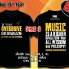 T-SHIRT : 15th YEAR (SIZE : S)