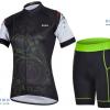 ชุดปั่นจักรยานผู้หญิง CHEJI เสื้อปั่นจักรยาน กับ กางเกงปั่นจักรยาน สีดำ 076