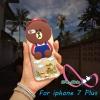 เคสไอโฟน7พลัส case iPhone7 Plus TPUหมี