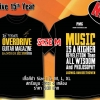 T-SHIRT : 15th YEAR (SIZE : M)