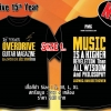 T-SHIRT : 15th YEAR (SIZE : L)
