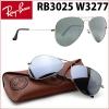 RayBan RB3025 W3277 Aviator Silver mirror
