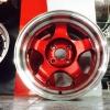 ล้อใหม่ขอบ15 S-1R PARODI ขอบ15x7.5 PCD: 4H100 ET:35 CB: 73.1 COLOR:RED/LP วงละ 2750 บาท เท่านั้น
