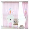 ผ้าม่าน ลายการ์ตูน กระต่ายสีชมพู