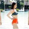 ชุดว่ายน้ำ บิกินี่ ชุดว่ายน้ํา เอวสูง Funny Girl