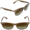 Ray Ban RB4207 6033/T5 Wayfarer Liteforce Polarized 55 mm
