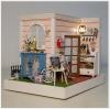 บ้านตุ๊กตาจิ๋ว DIY mini room - ห้องนอน pastel 2 ด้าน