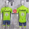 ชุดปั่นจักรยานแขนสั้นทีม Think Off 2016 เสื้อปั่นจักรยาน กับ กางเกงปั่นจักรยาน สีเขียว 305