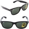 Ray Ban New Wayfarer RB2132 901 Black G-15