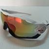 แว่นตา OAKLEY JAWBREAKER สีขาวดำ เลนส์สว่าง