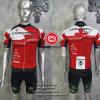 ชุดปั่นจักรยานแขนสั้นทีม Cannondale 2016 เสื้อปั่นจักรยาน กับ กางเกงปั่นจักรยาน สีดำแดง 313