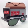 Ray Ban Wayfarer RB 2132 6052/58 Black on Clear G-15