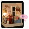 บ้านตุ๊กตาจิ๋ว DIY mini dolls house - มุมทำงานในบ้าน