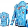เสื้อปั่นจักรยานแขนยาวผู้หญิง SOUKE ฟ้า : CL2000