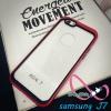 เคสซัมซุงJ7 case samsung J7 ขอบสีหลังใส