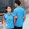 ชุดแบดมินตัน เสื้อแบดมินตัน YONEX สีฟ้า : 402